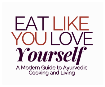 EAT Like you love yourself Titles with background