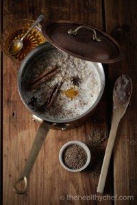 buckwheat chai porridge