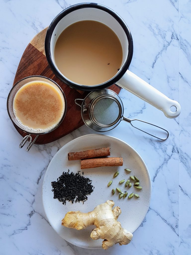 This Winter Warming Chai is one of my favourite things to drink in Winter.  Warming spices to keep the winter digestion healthy and happy.